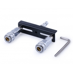Hismith Sex Machine Attachment, Double Quick Connector Adapter for Premium Sex Love Machine