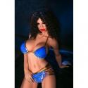 a grandezza reale bambola gonfiabile sexy in bikini blu