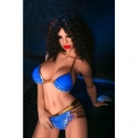 Life Size Real Sex Doll In Sexy Blue Bikini 4.59ft To 5.41ft